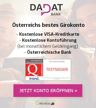 Girokonto Vergleich österreich 2019 Bestes Gratis Konto